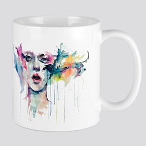Girl aquarel Mug