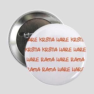 "Hare Krsna Maha Mantra 2.25"" Button"