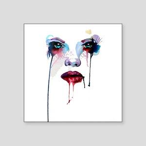 Girl aquarel 04 Sticker