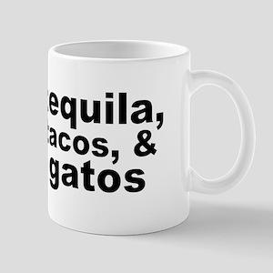Tequila, Tacos, & Gatos Mugs