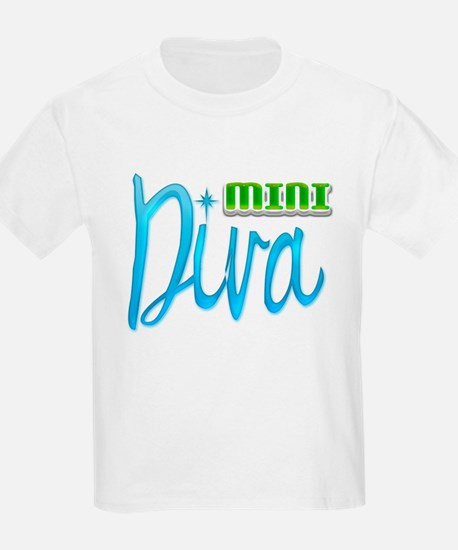 Mini Diva Kids T-Shirt
