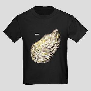 Oyster Sea Life Kids Dark T-Shirt