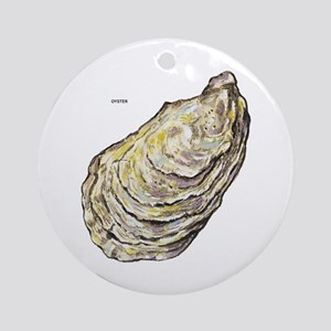 Oyster Sea Life Ornament (Round)