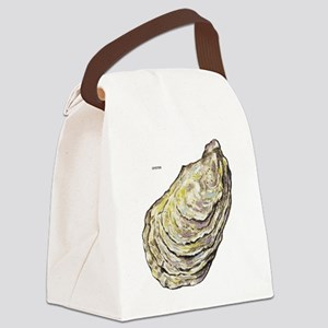 Oyster Sea Life Canvas Lunch Bag
