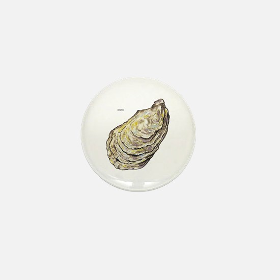 Oyster Sea Life Mini Button