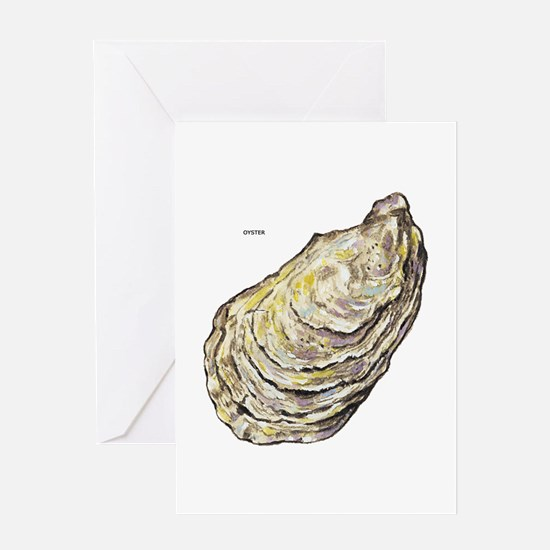 Oyster Sea Life Greeting Card