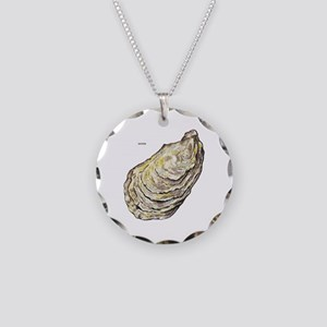 Oyster Sea Life Necklace Circle Charm