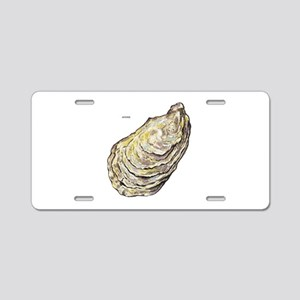 Oyster Sea Life Aluminum License Plate