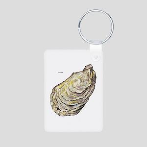 Oyster Sea Life Aluminum Photo Keychain