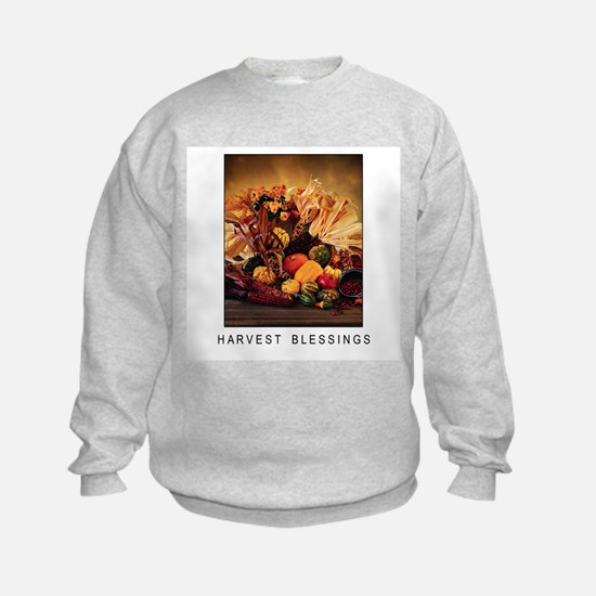 Harvest Blessings - Fall Corn - Thanksgiving Sweatshirt