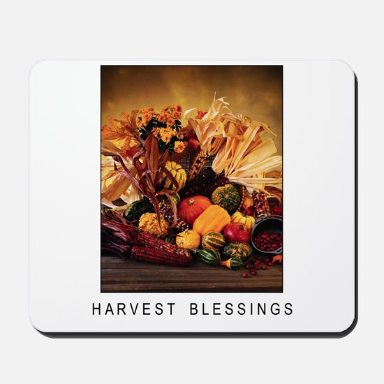 Harvest Blessings - Fall Corn - Thanksgiving Mouse