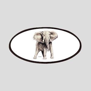 Elephant Animal Patches