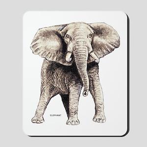 Elephant Animal Mousepad
