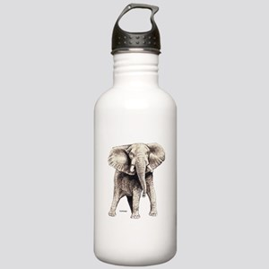 Elephant Animal Stainless Water Bottle 1.0L