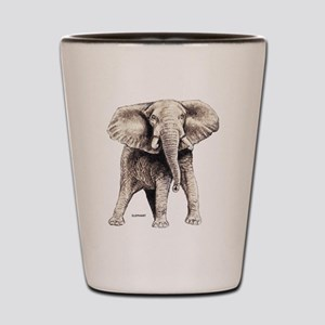 Elephant Animal Shot Glass
