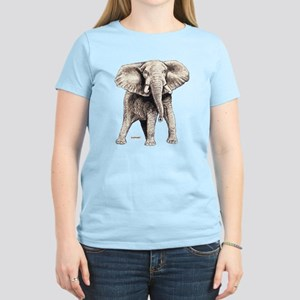Elephant Animal Women's Light T-Shirt