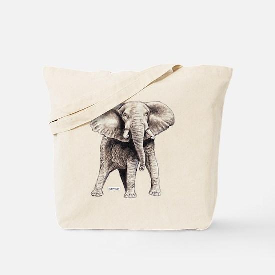 Elephant Animal Tote Bag