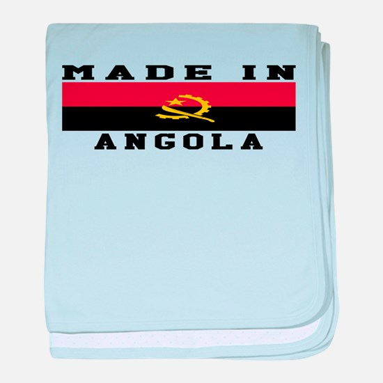 Angola Made In baby blanket