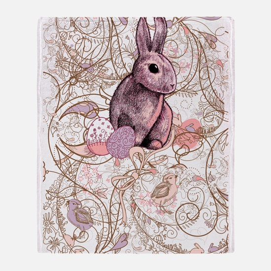 Easter is abound Throw Blanket