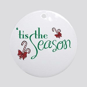 Tis The Season Ornament (Round)