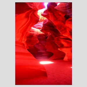 Rock formations in a canyon, Antelope Canyon, Lake