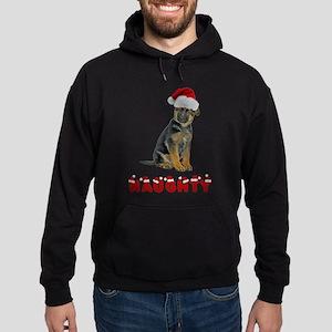 Naughty German Shepherd Hoodie (dark)