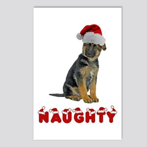 Naughty German Shepherd Postcards (Package of 8)