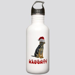 Naughty German Shepherd Stainless Water Bottle 1.0