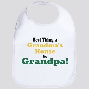 Best Thing Grandpa Bib