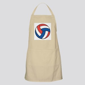 Red, White and Blue Volleyball BBQ Apron