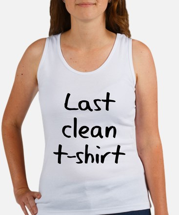 Last Clean T-Shirt Tank Top