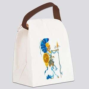 Athena Canvas Lunch Bag