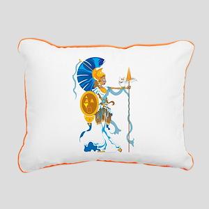 Athena Rectangular Canvas Pillow