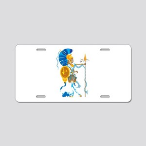 Athena Aluminum License Plate
