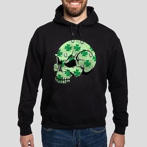 Irish Lucky Skull Hoodie (dark)