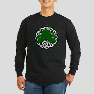 Shamrock Long Sleeve Dark T-Shirt