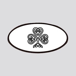 Celtic Shamrock Patches