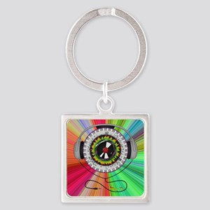 Music of Life Square Keychain