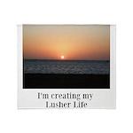 Sunrise Lusher Life Throw Blanket