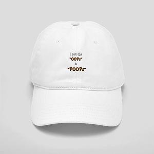 Oops In Poops! Cap