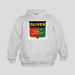 Oliver Tractor Kids Hoodie