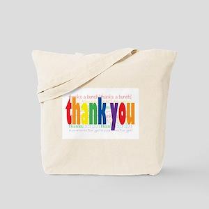 Thank You Greeting Card Tote Bag
