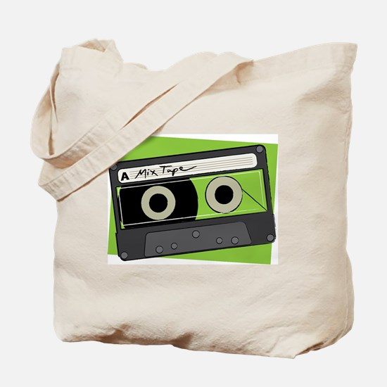 Mix Tape Canvas Tote Bag