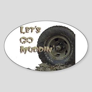 Mountain Mudd Dawgs logo Sticker