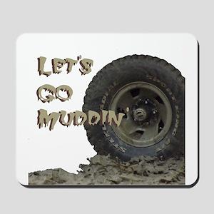 Mountain Mudd Dawgs logo Mousepad