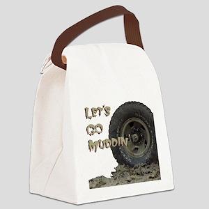 Mountain Mudd Dawgs logo Canvas Lunch Bag