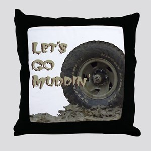 Mountain Mudd Dawgs logo Throw Pillow