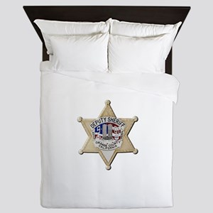 Orange County Sheriff 9-11 Queen Duvet