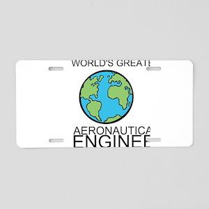 Worlds Greatest Aeronautical Engineer Aluminum Lic