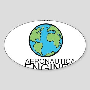 Worlds Greatest Aeronautical Engineer Sticker